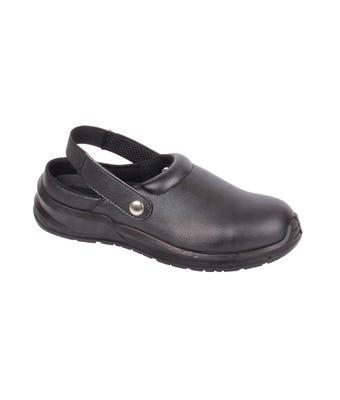 Blackrock leather clog