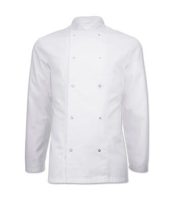 Essential short sleeve chef jacket