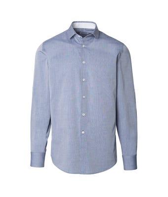 Mens chambray roll up sleeve shirt