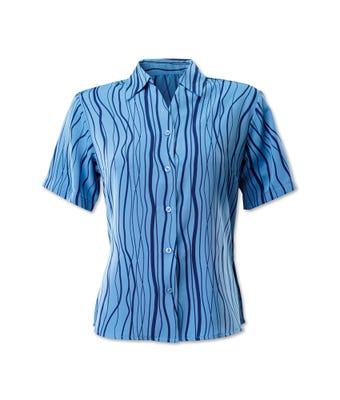Women's waves blouse