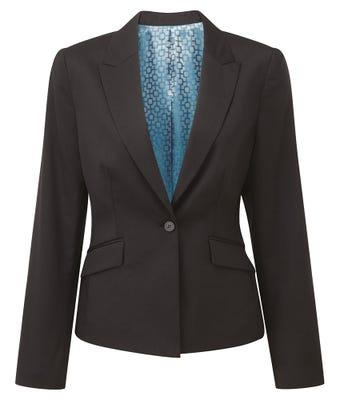 Cadenza women's one button jacket