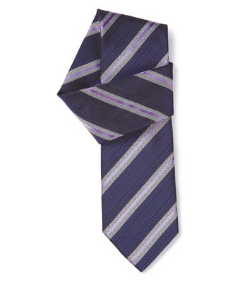 Fine stripe tie