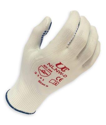 PVC dotted handling glove