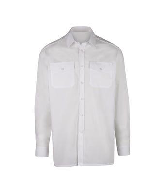 Men's long sleeved pilot shirt