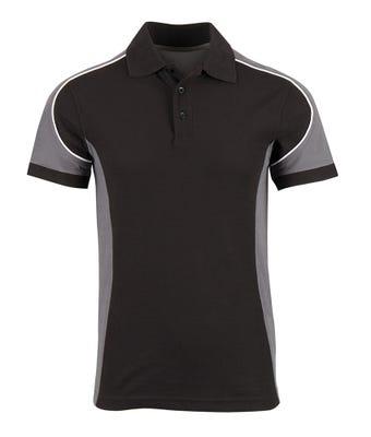 Tungsten men's polo shirt