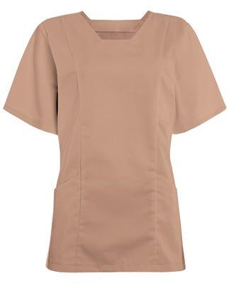 Women's smart scrub tunic