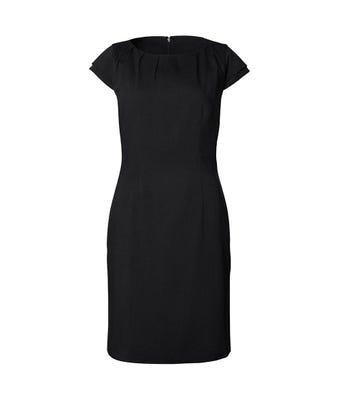 Icona gathered neck dress