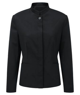 Easycare women's mandarin collar jacket