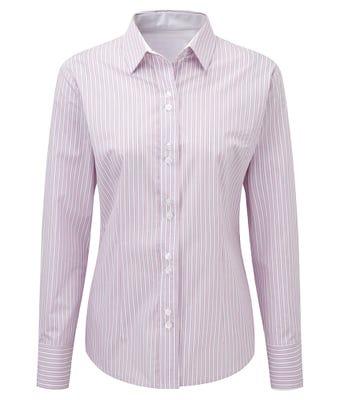 Women's long sleeve stripe shirt