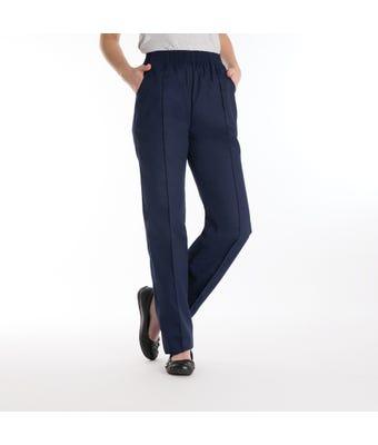 Women's elasticated trousers