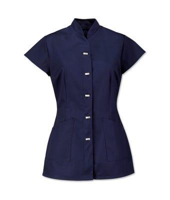Women's mock fastening tunic