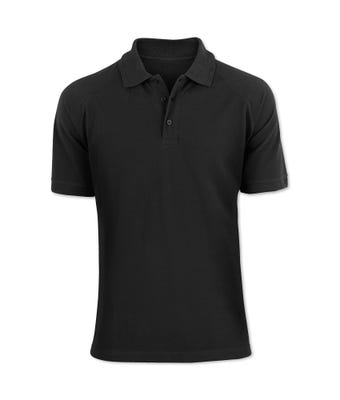 Men's workwear polo shirt black