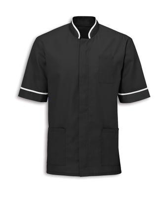 Men's mandarin collar tunic