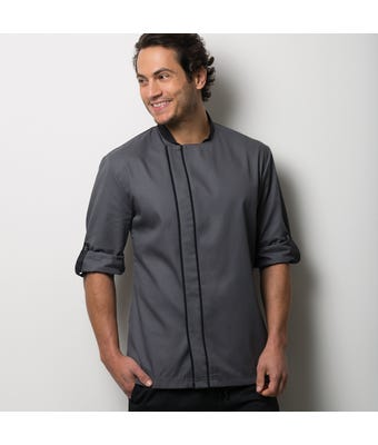 Chef's coloured contrast jacket