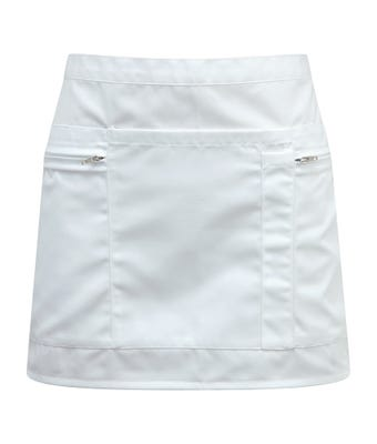 Zip pocket waist apron