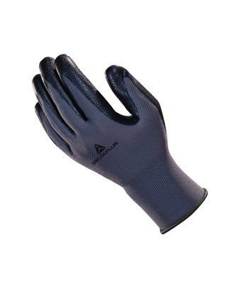 Poly knit  nitrile foam palm wet glove