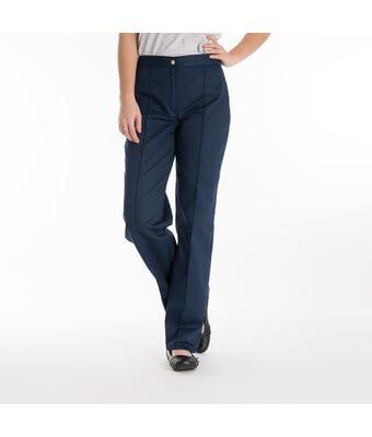 Women's flat front trouser